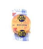 Pojedyncza porcja klingeryty zawijający Ritz krakers Obraz Stock