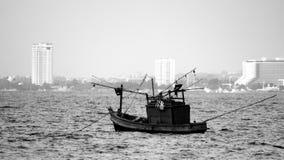 Pojedyncza rząd łódź Obrazy Stock