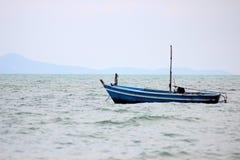 Pojedyncza rząd łódź Zdjęcie Stock
