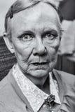 Pojedyncza Stara dama obrazy stock