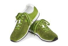 pojedyncze pokrycie buty białe Fotografia Royalty Free