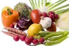 pojedyncze warzywa mieszanych obrazy stock