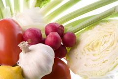pojedyncze warzywa mieszanych fotografia stock