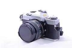 Pojedynczego obiektywu odruchu 35mm rolki filmu kamera Obrazy Royalty Free