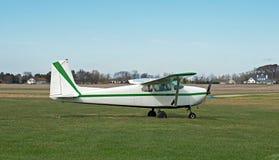 Pojedynczego silnika wsparcia samolot Obrazy Royalty Free