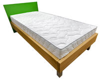 Pojedynczy łóżko obraz royalty free