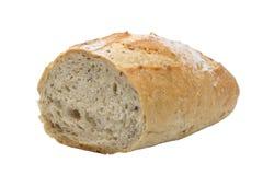 pojedynczy białe tło chleba Zdjęcie Royalty Free