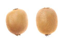 Pojedynczy cały kiwifruit odizolowywający Zdjęcie Royalty Free