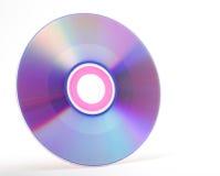 pojedynczy cd white Zdjęcia Stock