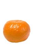 pojedynczy clementine fotografia stock