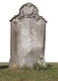 pojedynczy grób kamień Fotografia Royalty Free