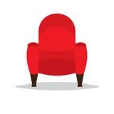 Pojedynczy Kinowy Seat Obrazy Royalty Free