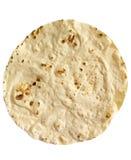 Pojedynczy kukurydzany tortilla Obrazy Stock