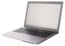 pojedynczy laptopa white Obrazy Stock