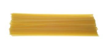 pojedynczy makaronu spaghetti Zdjęcia Royalty Free