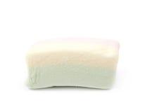 Pojedynczy marshmallow cukierek Fotografia Stock