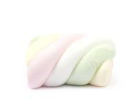 Pojedynczy marshmallow cukierek Zdjęcie Royalty Free