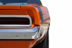 pojedynczy mięśni biały samochód Obraz Royalty Free