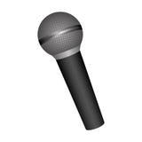 Pojedynczy mikrofon ikony wizerunek Fotografia Stock