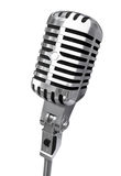 pojedynczy mikrofonu Zdjęcie Royalty Free