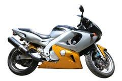pojedynczy motocykla Zdjęcie Stock