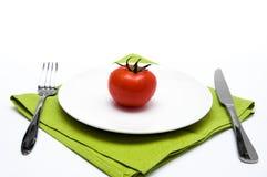 pojedynczy pomidor Fotografia Royalty Free