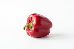 Pojedynczy słodki czerwony pieprz Zdjęcie Royalty Free