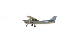 pojedynczy samolot fotografia royalty free