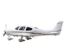 pojedynczy samolot wsparcia white Fotografia Stock