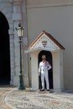 pojedynczy strażowy Monaco Obrazy Royalty Free