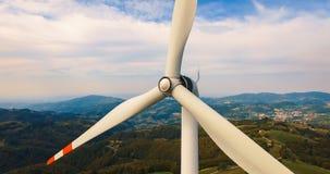 pojedynczy turbiny wiatr Obrazy Stock