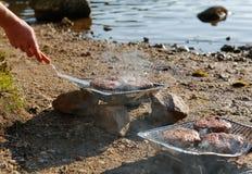Pojedynczy use grill Fotografia Royalty Free