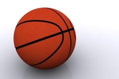 pojedynczy white koszykówki Obraz Stock