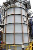 Pojemność dla petrochemicznego przemysłu zdjęcie stock