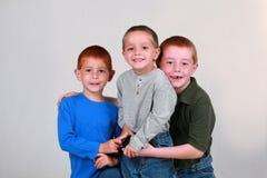 pojkar little Royaltyfri Bild