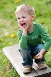 pojke Fotografering för Bildbyråer