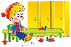 pojke stock illustrationer