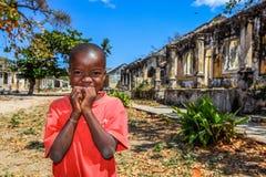 Pojke av Ibo Arkivfoto