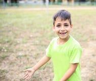 Pojke för gröna ögon i PA Royaltyfria Bilder