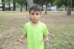 Pojke för gröna ögon i PA Royaltyfri Foto