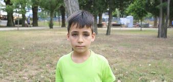 Pojke för gröna ögon i PA Fotografering för Bildbyråer
