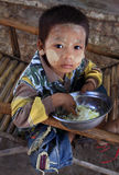Pojke i Mandalay Royaltyfri Fotografi