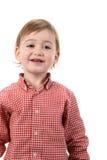 Pojke i skjorta Arkivbild