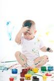 pojke little Arkivbilder
