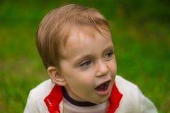 pojke little Royaltyfri Fotografi