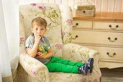 pojke little Royaltyfria Bilder