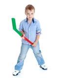 pojke little ståendestudio Royaltyfri Bild