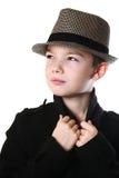 Pojke med en hatt Royaltyfri Foto