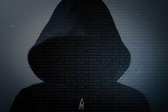 Hacker Royaltyfri Fotografi