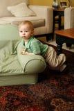pojke som ser förbryllad Royaltyfri Fotografi